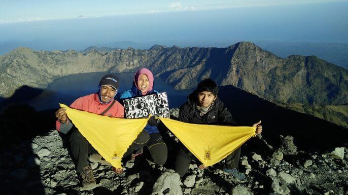 Rinjani dan Lombok, Semai Rinduku Untuk Kembali Lagi