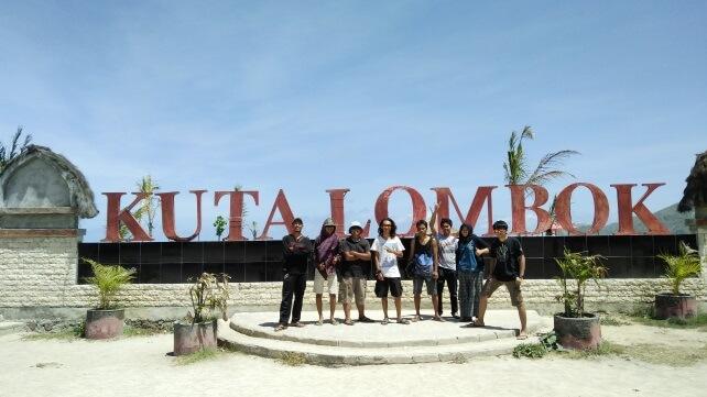Pantai Kuta Lombok, Nusa Tenggara Barat (©Dokumentasi Pribadi Fika Indriani/Palawa Unpad)